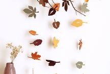 Bricolage et DIY avec des feuilles d'automne