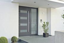 . front doors .