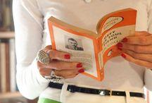 Books Are The New Black / Literature Couture