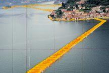 The Floating Piers,siete pronti a camminare sull'acqua ? dal 18 Giugno al 3 Luglio Lago d' Iseo (BS)