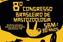 VIII CBMz 2015 - João Pessoa / VIII Congresso Brasileiro de Mastozoologia 28 de setembro a 2 de outubro de 2015 em João Pessoa, PB!