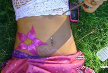Crochet bikini's