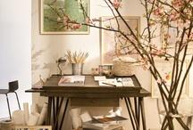 Home Studio / Ideas for the artist's home studio.