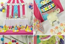 Circus Party Ideas / MariaPalito wants to plan a Party for her friend Thomas this summer and since he loves magic I am going to Plan a Circus Party for him in the backyard, The lions are in the cage, the carnival and the clowns are getting ready ... Let's go and Party. Here is some inspiration for the Perfect Circus Party / by Maria Palito