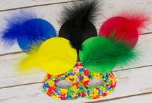 Olympics Themed Crafts / Olympic and carnival themed craft ideas for all ages.