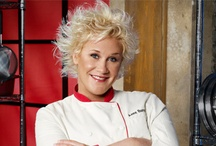 Anne Burrell Recipes / Anne W. Burrell is an American chef, TV personality, and was an instructor at the Institute of Culinary Education in New York City until 2007. She is the host of the Food Network show Secrets Of a Restaurant Chef and co-host of Worst Cooks in America. She is also one of Iron Chef Mario Batali's sous chefs in the Iron Chef America series and appears on other programs on the network such as The Best Thing I Ever Ate.
