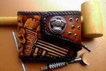 Custom Garage small wallet / .