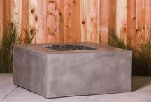 C o n c r e t e   F i r e p i t s / Concrete firepits by Concrete Wave Design. Follow us on Instagram @concretewavedesign
