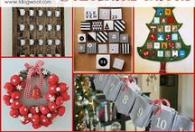Make your own advent calendar / Ideas for you or the kids to create your own advent calendar