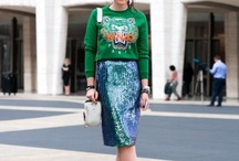 New York Fashion Week Sept 2012 - Streetstyle Favs / by Andrea Langer