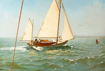 East Anglian Group of Marine Artists / Exhibition open from 30th Mar - 14th April