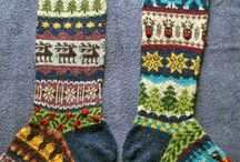 KNIT: pattern socks