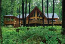 Beautiful Cabins / Retreats that connect us with nature.