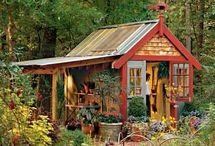Garden Sheds, Potting Benches