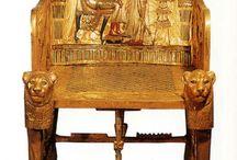 sillas / evolucion, simbolica, morfologica y tipologica  a lo largo de la historia de los estilos en el diseño del mueble.