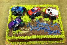 Monster Truck Birthday Party / by Brandy Tejeda