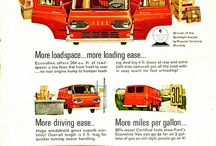 Ford Econoline,First Ten Years / Early vans / by Flavil Suggs