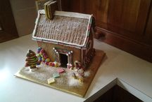 Gingerbread House / Gorgeous Gingerbread House created out of Melinda's Gingerbread Loaf Premix