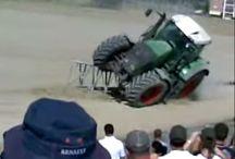 Video de tracteur / Accidents de tracteurs, gros tracteurs, tracteur pulling …