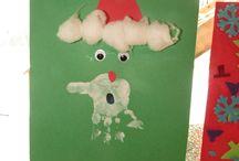 Santa / Handprint