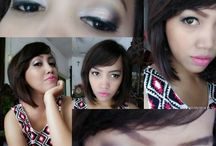 simple make up by me