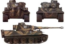 Camouflage Tanks WW2