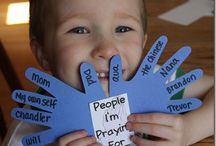 Prayer activities  / by Kayla Yeager
