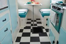 Retro caravan interiors / Ideas for when I get my cute caravan