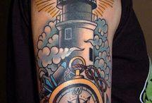 lighthouse tattoos