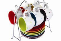 Rainbow Kitchen Equipment / Bright coloured, rainbow coloured, fun, kitchen equipment and utensils.