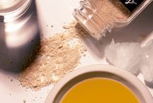 Kitchen Cabinet Skincare / Learn how to make your own skin care and beauty products with food based materials & basic kitchen ingredients.