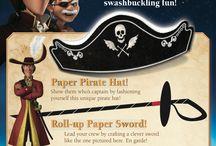 """anniversaire """"pirate"""""""