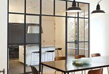 stalen frame keuken