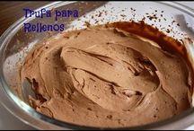 trufa de txokolate - crema