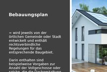 Hausbau-Lexikon / Hier klären wir über verschiedene Begriffe und deren Bedeutung auf - rund um das Thema Bauen.
