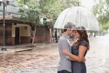 Downtown Orlando Engagements / Engagement photography sessions in downtown Orlando by Orlando wedding and engagement photographer & videographer Captured by Elle | www.capturedbyelle.com