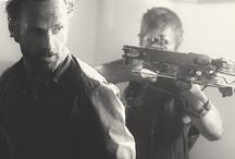 ❥TWD ❥  / My Walking Dead Obsession |  Dixon Bros all the way & Rick too ;)  / by Heather Beck