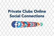 PCO Social Connections / Make sure you've connected with Private Clubs Online on the web and across social media.