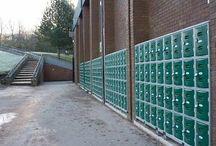 Saddleworth School / #storage #storageExpert #locker #lockers #storagesolutions