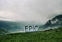 Snowdonia - It's truly EPIC / Our massive EPIC mirror letters are doing the rounds in Wales this summer to draw everyone's attention to some of Wales' most spectacular places. Between 20th - 29th July they were in Snowdonia.