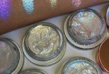 festival makeup glitter