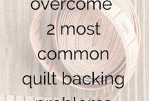 Solving Quilting Challenges / We all have challenges. If we find some good tips, we'll share them here.