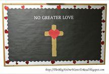 Church / Bulletin boards, game night, etc