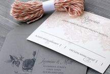 Pretty Invitations / by Rook Design Co.
