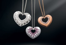 Necklaces / The Mouawad necklace collection includes the Flower of Eternity, Lava and Rosette.