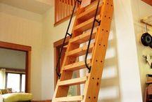 escadas..
