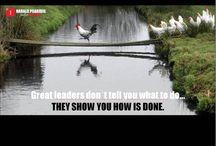LEADERSHIP- & MOTIVATIONAL WORDS / Hier sind Zitate und Leitsätze mit denen Du Dich täglich führen und inspirieren kannst!