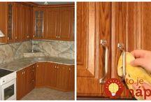 čistá kuchyňská linka