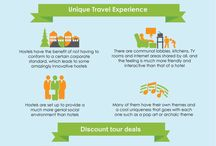 Travel Infographics / Infographics concerning travel tips