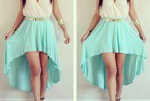 vestidos con cola